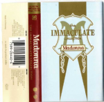 THE IMMACULATE COLLECTION - TURKEY CASSETTE ALBUM
